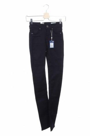Дамски панталон G-Star Raw, Размер XXS, Цвят Син, 63% памук, 33% полиестер, 4% еластан, Цена 27,48лв.