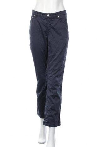 Γυναικείο παντελόνι Gant, Μέγεθος L, Χρώμα Μπλέ, 98% βαμβάκι, 2% ελαστάνη, Τιμή 27,93€