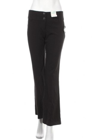 Дамски панталон Hot Options, Размер S, Цвят Черен, Полиестер, вискоза, еластан, Цена 7,56лв.