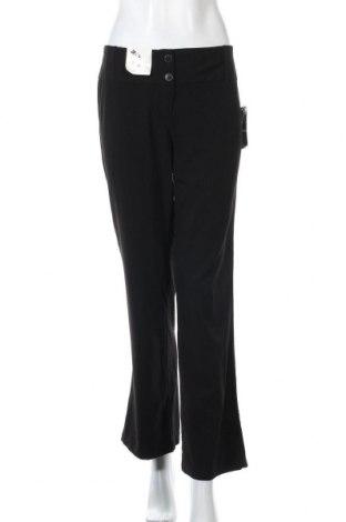 Дамски панталон Hot Options, Размер M, Цвят Черен, Полиестер, вискоза, еластан, Цена 9,66лв.