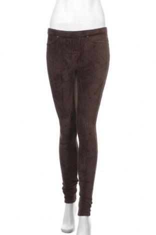 Дамски джинси Hue, Размер S, Цвят Кафяв, 66% памук, 30% полиестер, 4% еластан, Цена 7,85лв.