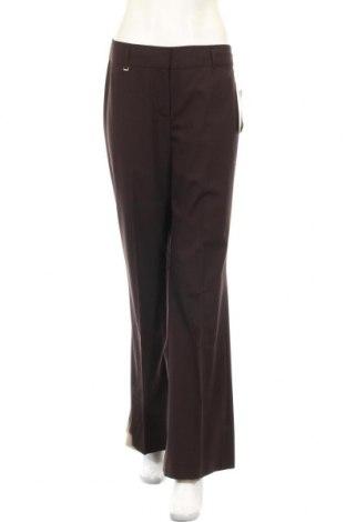 Дамски панталон Jones New York, Размер S, Цвят Кафяв, 69% вълна, 29% полиестер, 2% еластан, Цена 25,71лв.