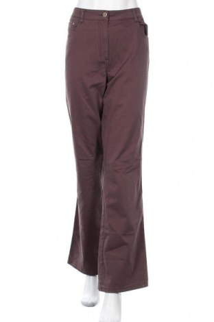 Γυναικείο παντελόνι Kenny S., Μέγεθος L, Χρώμα Καφέ, 97% βαμβάκι, 3% ελαστάνη, Τιμή 18,12€