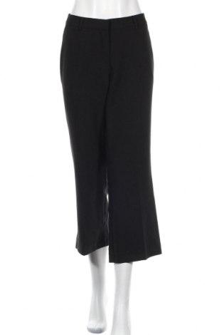 Γυναικείο παντελόνι Kiomi, Μέγεθος L, Χρώμα Μαύρο, 79% πολυεστέρας, 17% βισκόζη, 4% ελαστάνη, Τιμή 16,37€