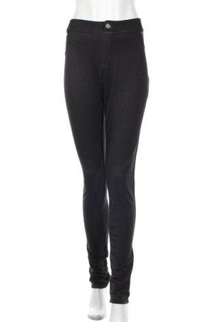 Γυναικείο παντελόνι Lee Cooper, Μέγεθος XL, Χρώμα Μαύρο, 78% βαμβάκι, 21% πολυεστέρας, 3% ελαστάνη, Τιμή 30,54€