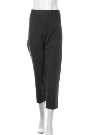 Дамски панталон Liz Claiborne, Размер XXL, Цвят Сив, 71% памук, 25% полиестер, 4% еластан, Цена 32,29лв.