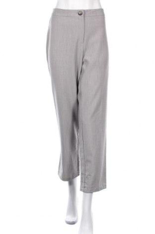 Дамски панталон Liz Jordan, Размер M, Цвят Сив, 69% полиестер, 26% вискоза, 5% еластан, Цена 6,83лв.