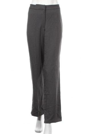 Дамски панталон Liz Jordan, Размер M, Цвят Сив, 96% полиестер, 4% еластан, Цена 7,64лв.