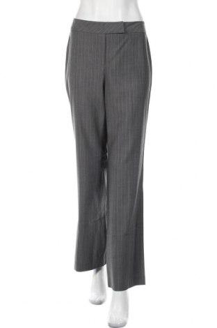 Дамски панталон Loft By Ann Taylor, Размер L, Цвят Сив, Вълна, Цена 15,28лв.