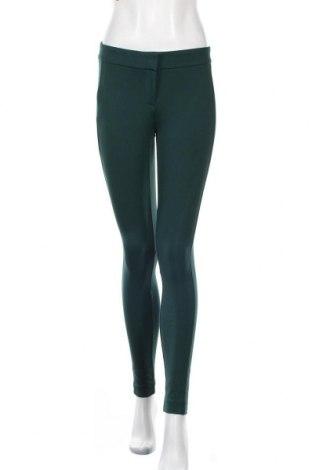 Дамски панталон Loft By Ann Taylor, Размер XS, Цвят Зелен, 72% вискоза, 24% полиамид, 4% еластан, Цена 89,78лв.