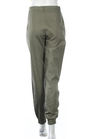 Γυναικείο παντελόνι Missguided, Μέγεθος M, Χρώμα Πράσινο, Βαμβάκι, Τιμή 22,81€