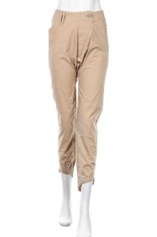 Дамски панталон Numph, Размер M, Цвят Бежов, Памук, Цена 23,60лв.