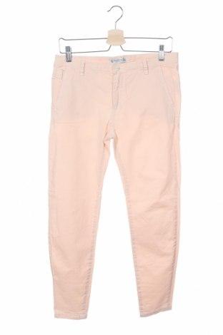 Дамски панталон Pull&Bear, Размер M, Цвят Розов, Цена 29,64лв.