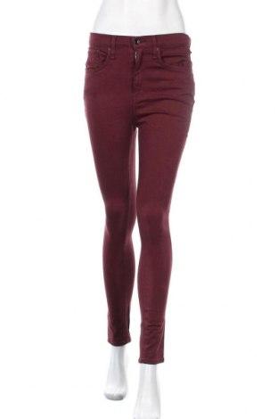 Γυναικείο παντελόνι Rag & Bone, Μέγεθος M, Χρώμα Κόκκινο, 60% βαμβάκι, 35% μοντάλ, 5% ελαστάνη, Τιμή 46,38€