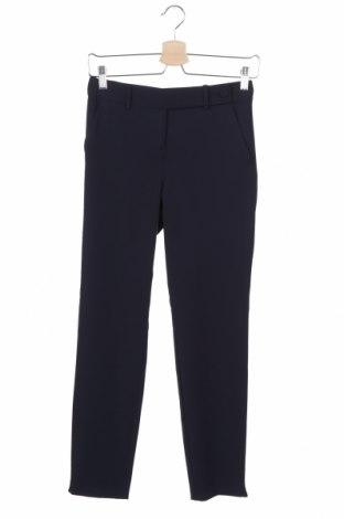 Дамски панталон Stefanel, Размер XXS, Цвят Син, 62% полиестер, 33% вискоза, 5% еластан, Цена 29,90лв.