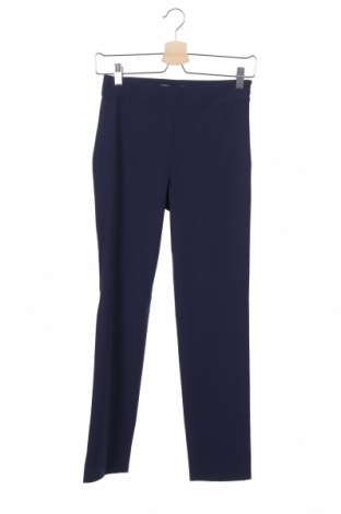 Дамски панталон Stefanel, Размер XS, Цвят Син, 62% полиестер, 33% вискоза, 5% еластан, Цена 23,92лв.