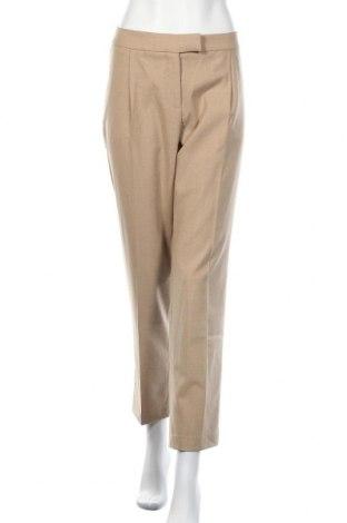 Дамски панталон Stefanel, Размер L, Цвят Бежов, 69% полиестер, 29% вискоза, 2% еластан, Цена 29,90лв.