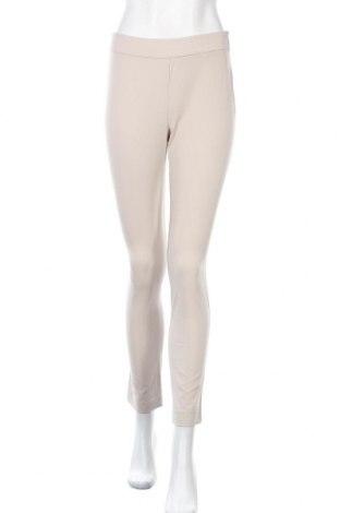 Дамски панталон Stefanel, Размер XS, Цвят Бежов, 62% полиестер, 33% вискоза, 5% еластан, Цена 23,92лв.