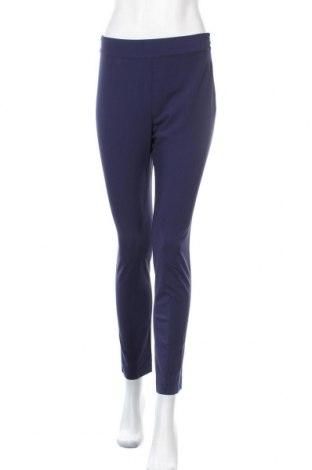 Дамски панталон Stefanel, Размер S, Цвят Син, 62% полиестер, 33% вискоза, 5% еластан, Цена 29,90лв.