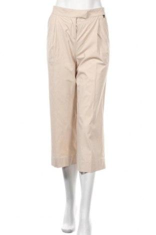 Γυναικείο παντελόνι TWINSET, Μέγεθος S, Χρώμα  Μπέζ, 97% βαμβάκι, 3% ελαστάνη, Τιμή 63,32€