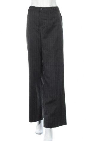 Дамски панталон Table Eight, Размер L, Цвят Сив, 52% полиестер, 45% вълна, 3% еластан, Цена 7,14лв.
