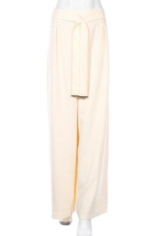 Γυναικείο παντελόνι Veronika Maine, Μέγεθος L, Χρώμα Εκρού, 100% πολυεστέρας, Τιμή 33,32€