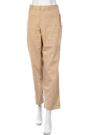 Дамски панталон Villager, Размер L, Цвят Бежов, 97% памук, 3% еластан, Цена 13,46лв.