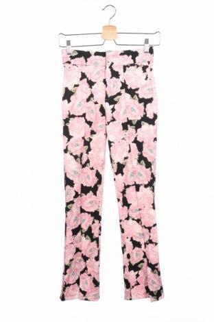 Дамски панталон Zara, Размер XS, Цвят Многоцветен, 94% полиестер, 6% еластан, Цена 20,80лв.