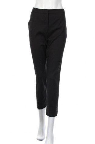 Γυναικείο παντελόνι Zara, Μέγεθος XL, Χρώμα Μαύρο, 50% βαμβάκι, 47% πολυεστέρας, 3% ελαστάνη, Τιμή 19,16€