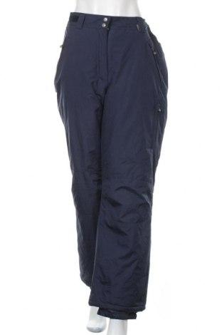Дамски панталон за зимни спортове Alpinetek, Размер M, Цвят Син, Полиестер, Цена 23,52лв.