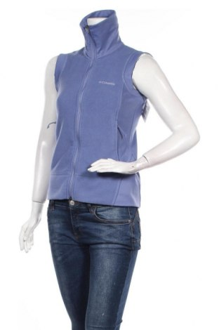Γυναικείο fleece γιλέκο Columbia, Μέγεθος XS, Χρώμα Μπλέ, Τιμή 27,35€