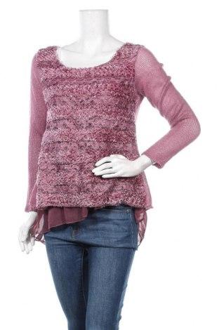 Γυναικείο πουλόβερ, Μέγεθος M, Χρώμα Βιολετί, 50% βισκόζη, 20% μοχαίρ, 30%ακρυλικό, Τιμή 7,54€