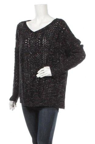 Дамски пуловер, Размер L, Цвят Многоцветен, 92% акрил, 6% полиамид, 2% метални нишки, Цена 9,56лв.