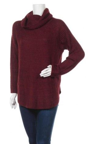 Дамски пуловер, Размер XL, Цвят Червен, 100% акрил, Цена 28,35лв.