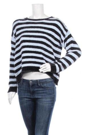 Дамски пуловер, Размер L, Цвят Син, Полиестер, Цена 26,25лв.