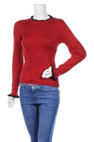 Дамски пуловер, Размер M, Цвят Червен, Цена 11,60лв.