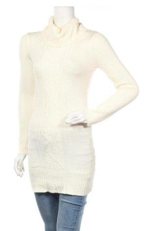 Дамски пуловер, Размер M, Цвят Бял, Цена 7,35лв.