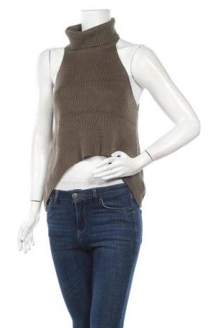 Дамски пуловер, Размер S, Цвят Зелен, Памук, полиестер, Цена 5,51лв.