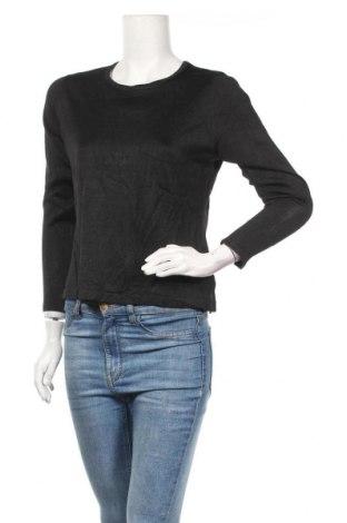 Дамски пуловер, Размер M, Цвят Черен, Цена 7,56лв.