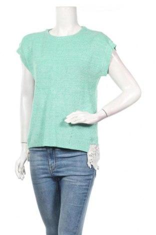 Дамски пуловер, Размер M, Цвят Зелен, Цена 8,82лв.