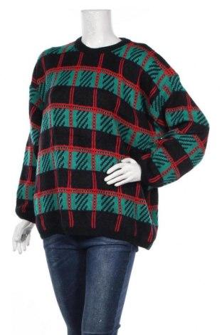 Дамски пуловер, Размер XL, Цвят Многоцветен, Акрил, Цена 8,19лв.