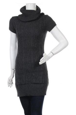 Дамски пуловер, Размер L, Цвят Сив, 45% акрил, 40% вълна от алпака, 15% вълна, Цена 25,94лв.