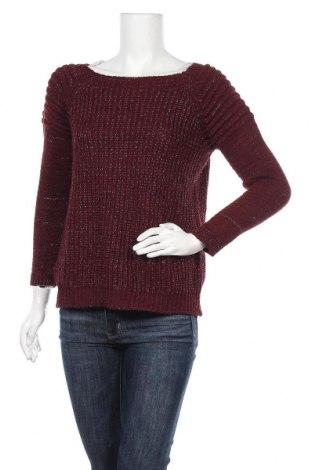 Дамски пуловер, Размер S, Цвят Червен, 95% акрил, 5% еластан, Цена 17,01лв.