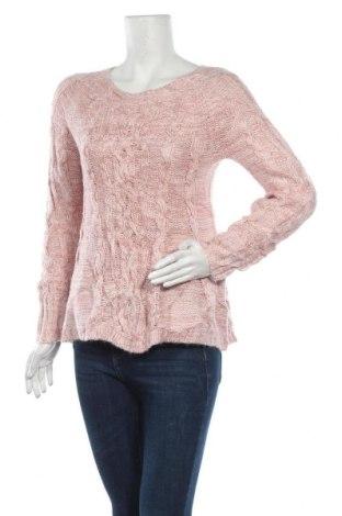Дамски пуловер, Размер M, Цвят Розов, Акрил, Цена 12,60лв.