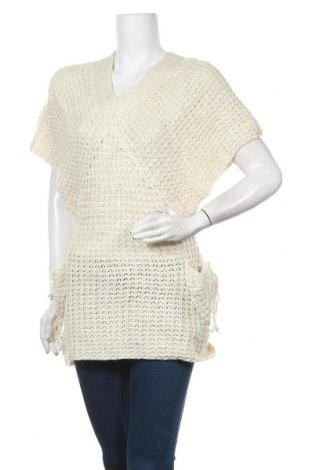 Дамски пуловер, Размер M, Цвят Екрю, Цена 6,56лв.