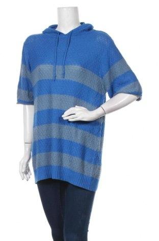 Дамски пуловер, Размер L, Цвят Син, Цена 11,34лв.