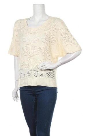 Дамски пуловер, Размер M, Цвят Бял, Цена 6,62лв.