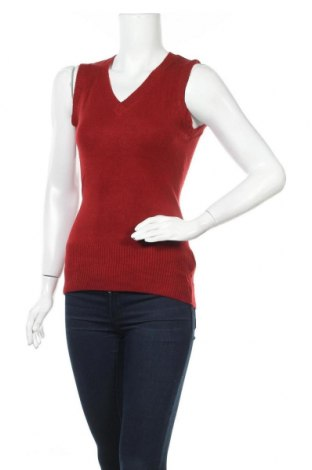 Дамски пуловер, Размер S, Цвят Червен, Акрил, Цена 16,54лв.