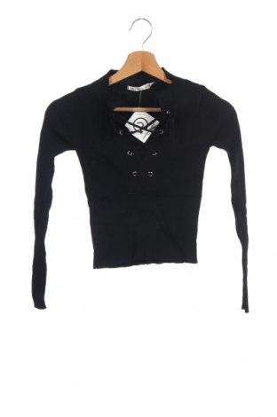 Γυναικείο πουλόβερ, Μέγεθος XS, Χρώμα Μαύρο, Βαμβάκι, πολυεστέρας, Τιμή 16,89€