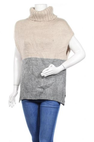 Дамски пуловер, Размер S, Цвят Бежов, 70% акрил, 30% вълна, Цена 13,23лв.